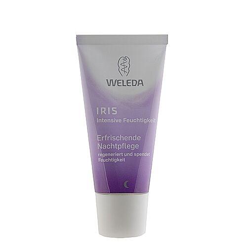 Weleda Iris Night Cream 30ml Skincare Natural Hydration Moisturizers #5999