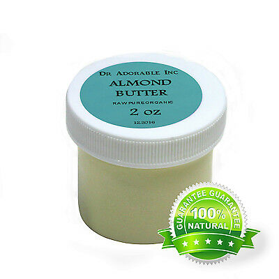 ORGANIC RAW 100% PURE ALMOND BUTTER GREAT MOISTURIZER