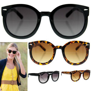 Image is loading Womens-Large-Sunglasses-Big-Oversized-Fashion-Vintage-Horn- c64dee29f