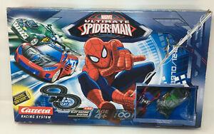 Carrera-Marvel-Ultimate-Spider-Man-Slot-Racing-Track-Set-NEW-Damaged-Box