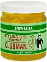 Pinaud Clubman Styling Gel Super Hold 16 Oz (pack Of 3) on sale