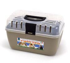 Transportbox Kleintier Kaninchen Meerschweinchen Hamster Vogel Maus Trage Box