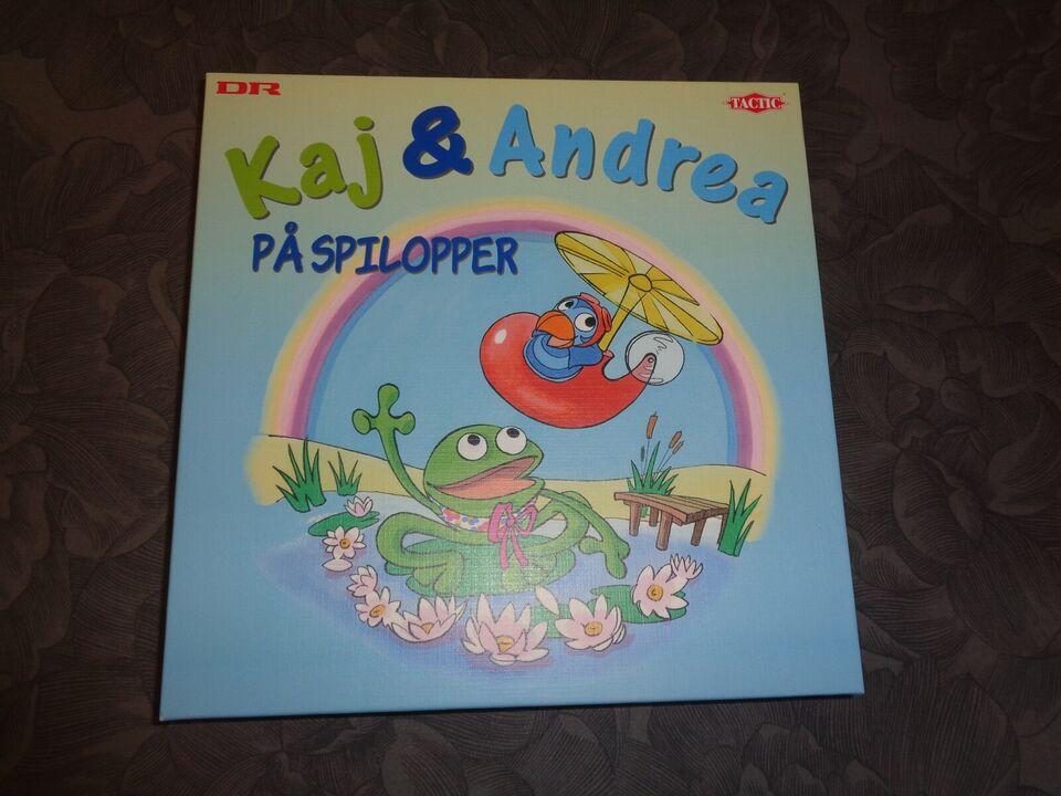 Kaj & Andrea på Spillopper, børn 4+, familie