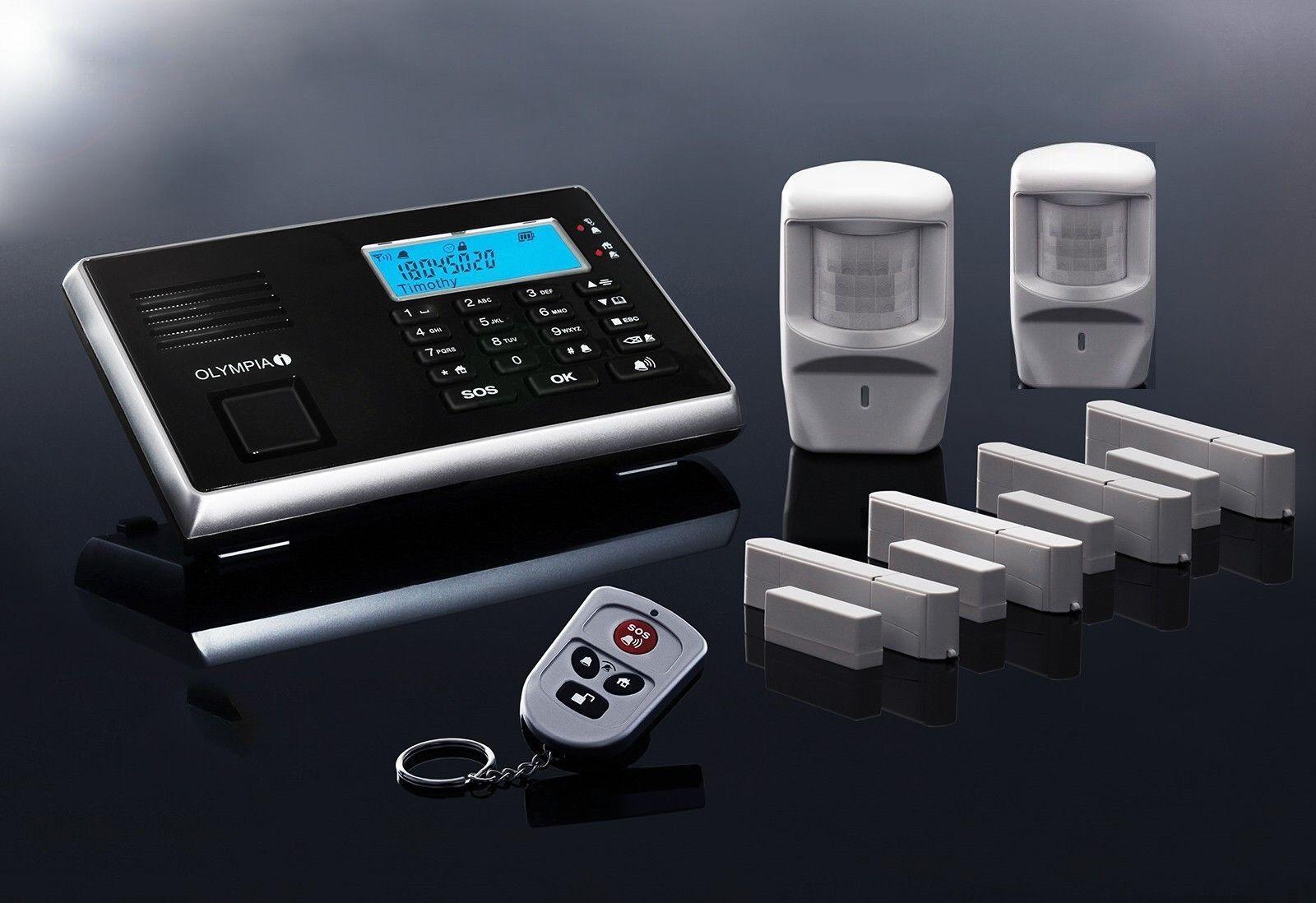 Olympia 9061 Premium Plus Radio Gsm Juego de Sistema de Alarma