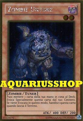 Zombie Untore ☻ Oro ☻ PGLD IT074 ☻ YUGIOH ANDYCARDS