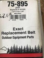 """1//2/"""" x 101-1//4/"""" rpls HUSQVARNA 197253 75-895 Oregon Belt Premium Mower Deck"""