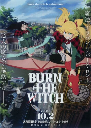 Burn The Witch-2020 Anime Movie Preview Screening:Taito Kubo B5 Mini Poster