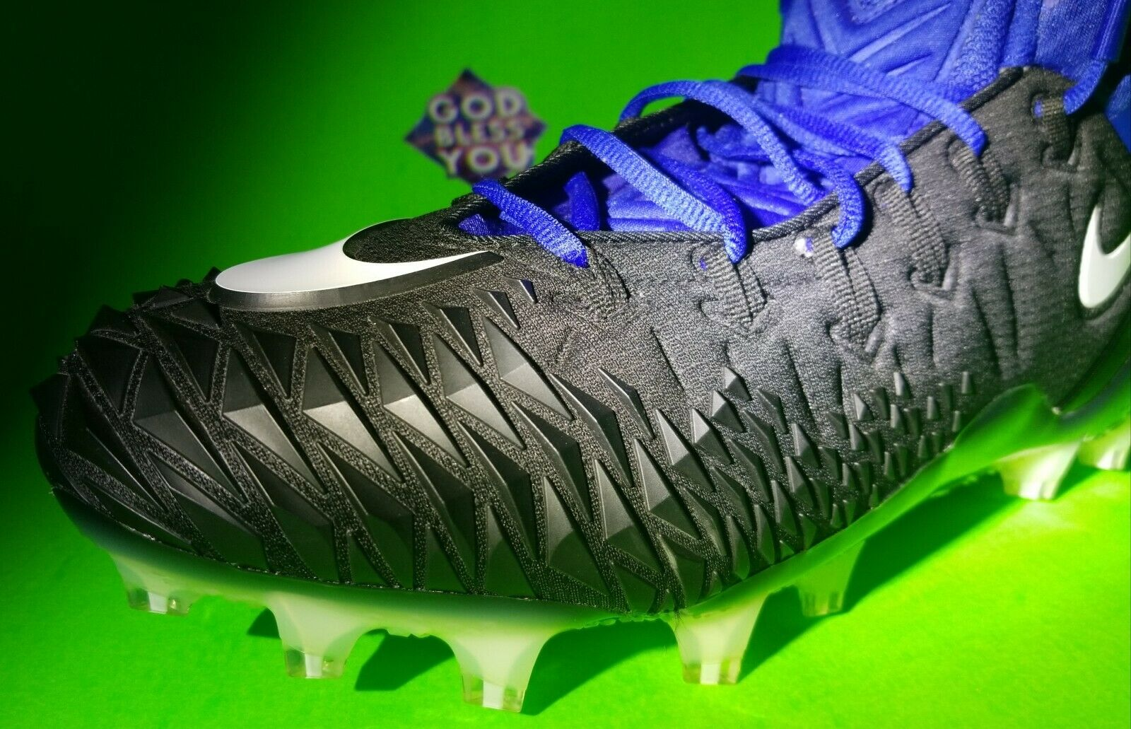 Nuevo (EE. UU. ) NIKE Force Savage Elite Botines De Fútbol Negro