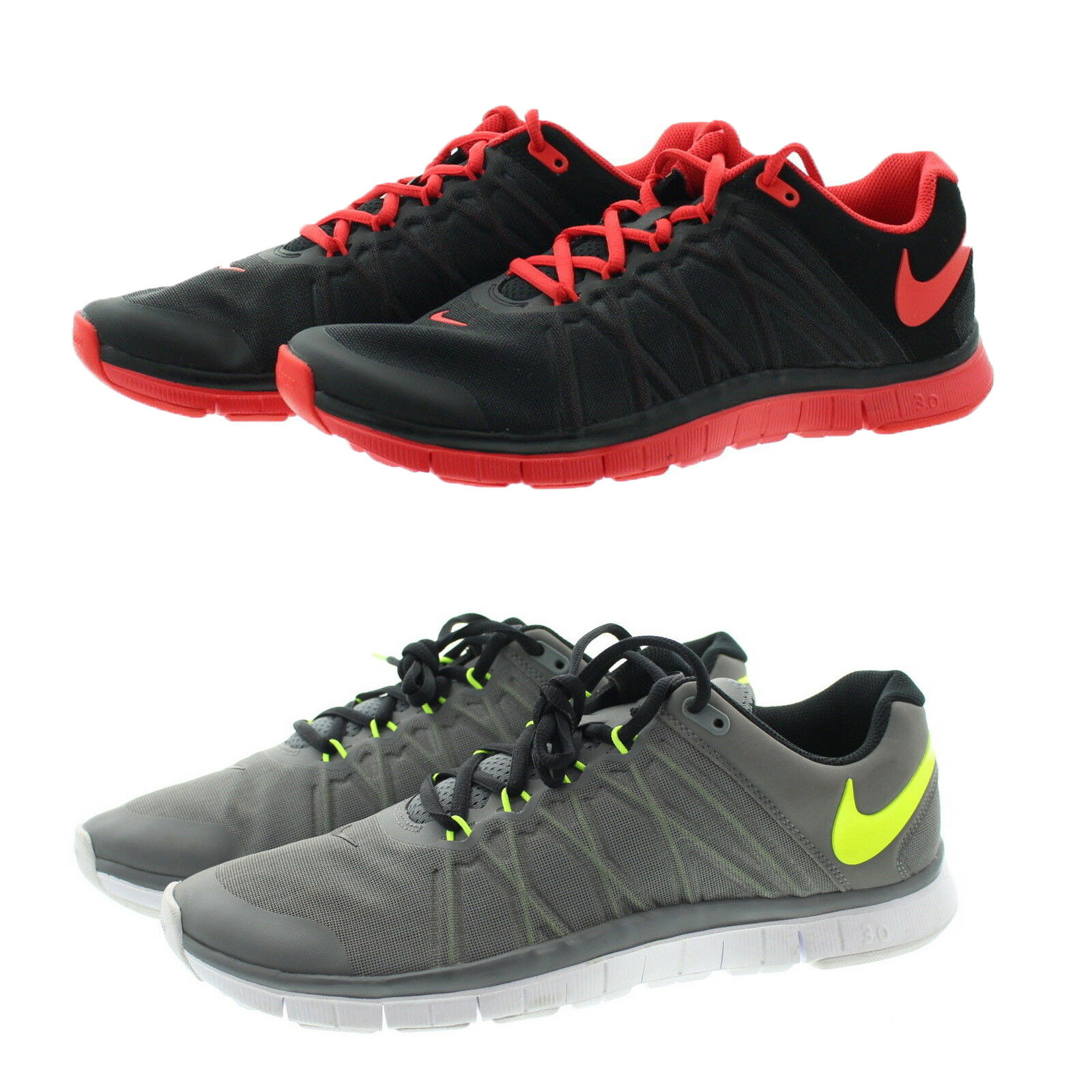 Nike 630856 Mens Free Trainer 3.0 Running Training Low Top Shoes Sneakers