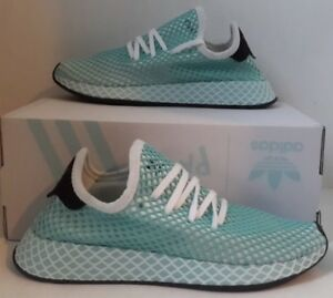 Details about Adidas Womens Deerupt Runner Parley blue CQ2908 New Running Athletic Shoes S 7.5
