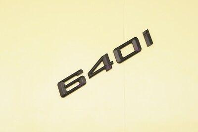 GLOSS BLACK BMW 645CI REAR BOOT LETTER EMBLEM BADGE FOR 6 SERIES E63 E64 F12 F13