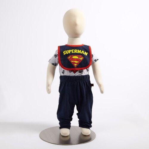 Pants /& Bib Layette Bodysuit Paw Patrol Batman TMNT SUPERMAN Baby Boy 3PC Set
