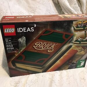 Fast Shipping **NEW** LEGO IDEAS Pop-Up Book 21315