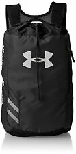 Under Armour UA Trance Black SackPack Backpack Gym Sports Soccer 6B2