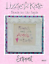 Lizzie-Kate-COUNTED-CROSS-STITCH-PATTERNS-You-Choose-from-Variety-WORDS-PHRASES thumbnail 98