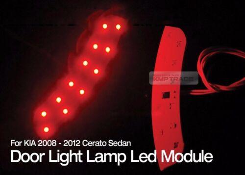 Safety Side Door Courtesy Light Lamp LED Module Red for KIA 2008-12 Cerato Forte