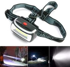 COB LED Head Lamp Light Torch Flashlight 3 Mode Headlamp Headlight Zoomable
