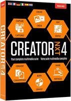 Roxio Creator Nxt 4 By Corel - Retail Box Rcrnxt4mlmbam