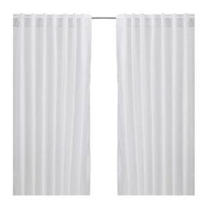 Brand-New-IKEA-VIVAN-Curtains-57-034-x-98-034-Window-Drapes-2-panels-White-New-Backing