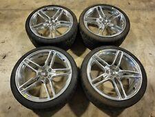 New Roush Wheel Tire Set 20 X 95 Fits 2015 2021 Silver 1