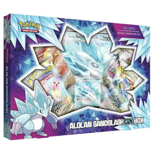 Pokemon Alolan Sandslash-GX Box in stock
