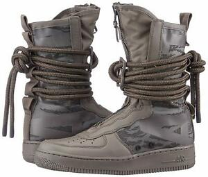 size 40 bdf77 66198 Details about Nike SF-AF1 HI Sneakerboot Men's SHOES RIDGEROCK BLACK 8 9  9.5 10.5 AA1128 203
