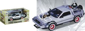 BACK-TO-THE-FUTURE-3-Die-Cast-DeLorean-Car-Replica-NEW-1-24-Scale-Model-toy