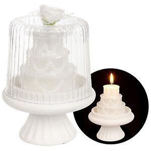 Ebay  Piece White Cake Stand