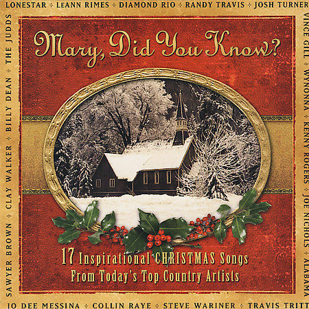 Mary Did You Know: 17 Inspirational Songs Randy Travis Lonestar Kenny Rogers   eBay