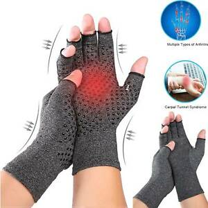 Arthritis-Gloves-Compression-Joint-Finger-Pain-Relief-Hand-Wrist-Brace-Support-A