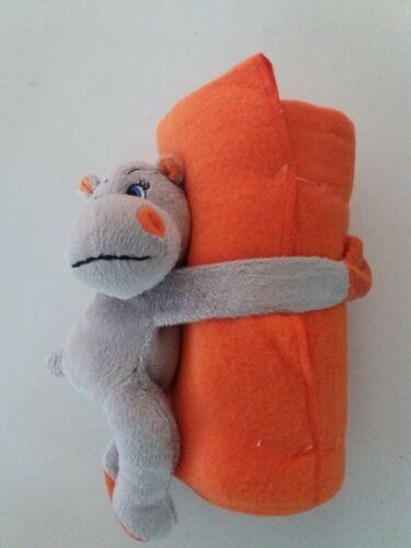 Kuscheldecke Nilpferd original verpackt von Haka