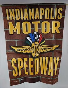 Indianapolis-Motor-Speedway-Collector-Garden-Flag-Indy-500-Brickyard-400-New