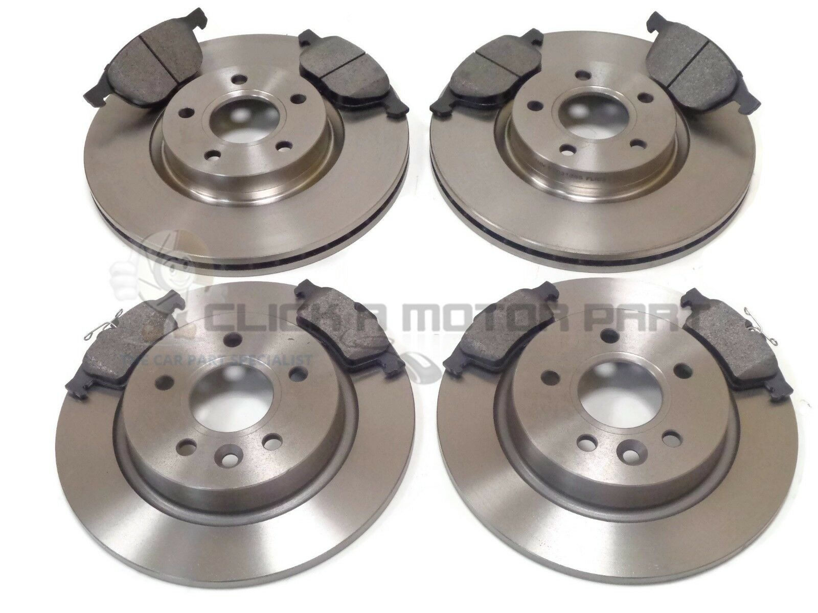 FORD FOCUS MK2 ESTATE 2005-2011 FRONT 300MM AND REAR 280MM BRAKE DISCS /& PADS