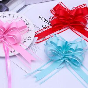 DUSTY PINK Ribbon Bows,Organza,Satin Edge,Favor Bows,Card,Craft,Wedding Decor