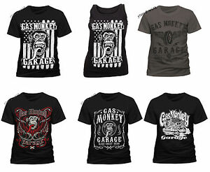 Garage T Shirts : Official gas monkey garage t shirt mens womens vest fast n