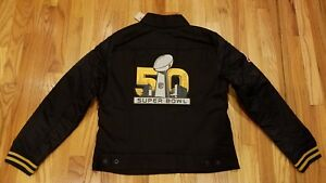 b13e8f23 Details about LEVIS WOMENS DENVER BRONCOS SUPER BOWL 50 JEAN JACKET SZ L  212300011 THESPOT917