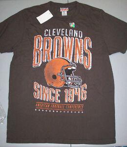 e53428b4 Details about Cleveland Browns Junk Food Kick-Off T-Shirt