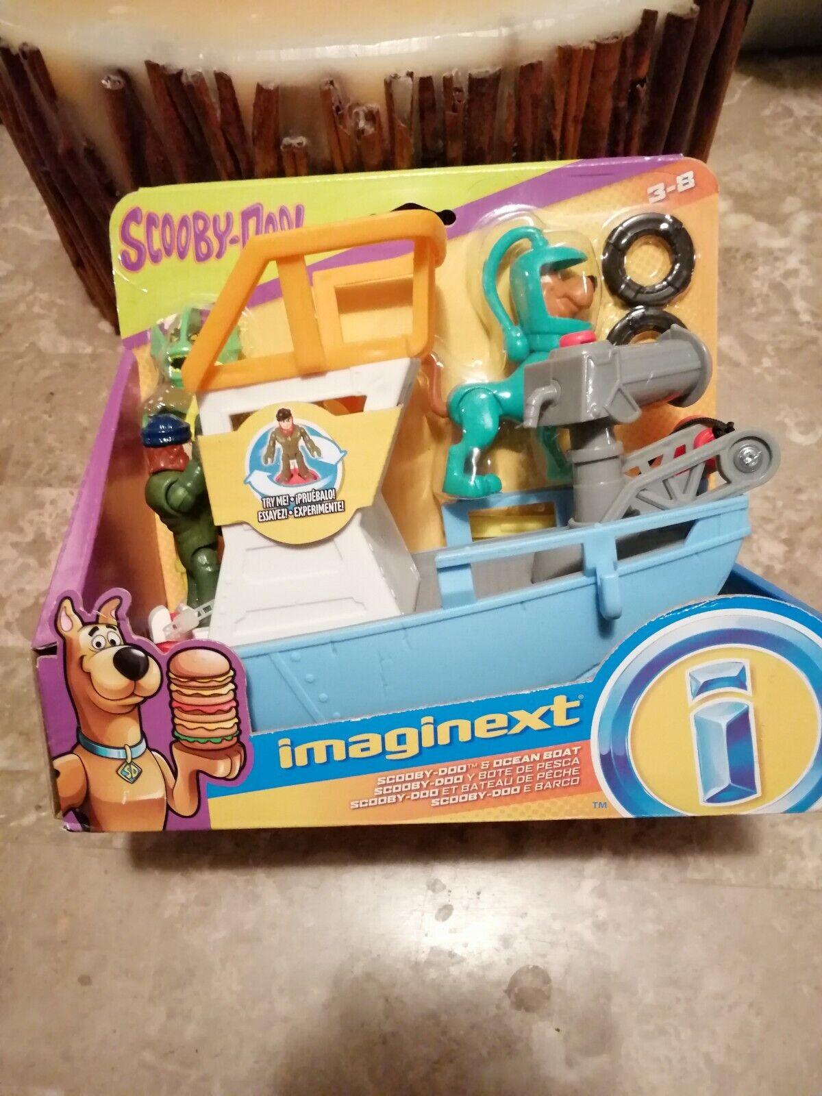Imaginext Scooby Doo Doo Doo Ocean Boat 0fc6d0