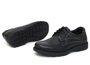 Mens-Work-Server-Shoes-Comfort-Footwear-Slip-Resistant-Leather-Lined-Lace-Up-NW