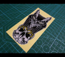 Hunting Owl Skull Knight Evil ghost rider Car Motorcycle Reflective Sticker