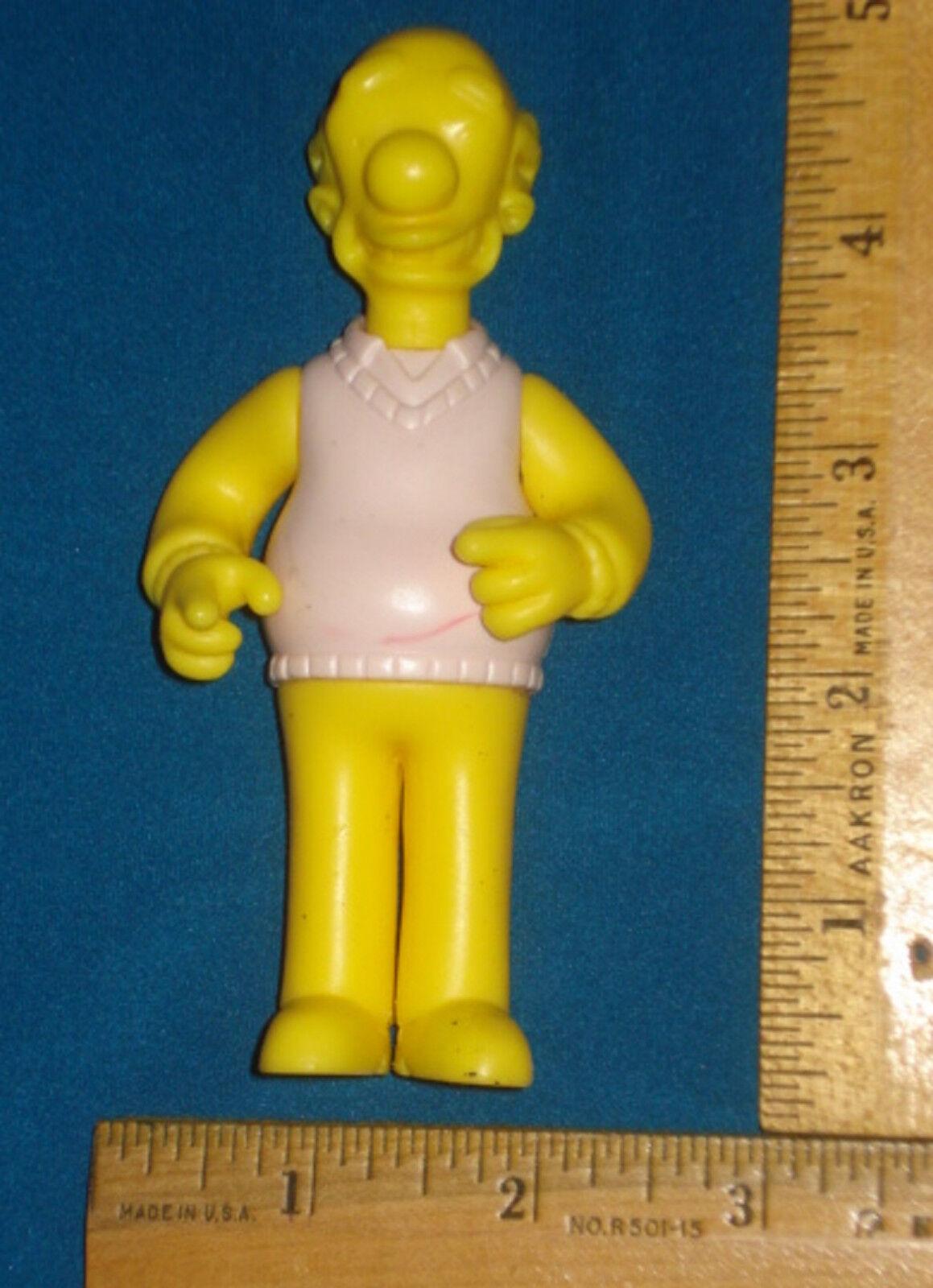 Prototype Test Shot figure Playmates Simpsons Kirk Von Houten  Wave 11 VHTF V5