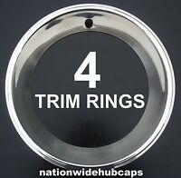Chevy Pontiac Gm 15x7 15x8 Rally Wheel Trim Rings Deep Dish Beauty Rims Rim Band