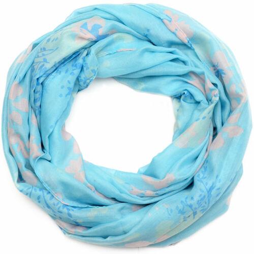 Loopschal foulard MU Fleurs Print Motif Femmes Chiffon Cou Nouveau Léger Chiffon Neuf