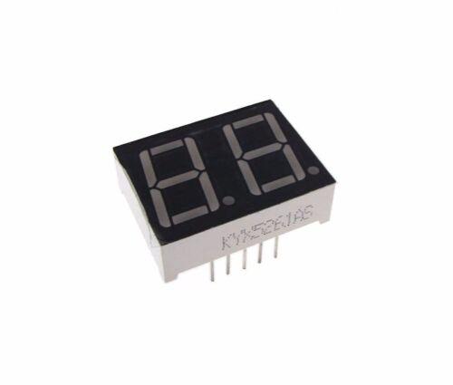 "0.56/"" 2 Digit 7-Segment LED Display DIP common cathode Blue"
