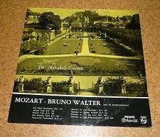 LP Record Mozart Bruno Walter Im Mirabell Garten Garden Philips A01237L
