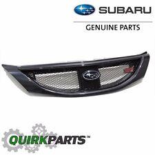 2008-2010 Subaru Impreza WRX STi DARK GRAY METALLIC Grille OEM NEW J1010FG200EN