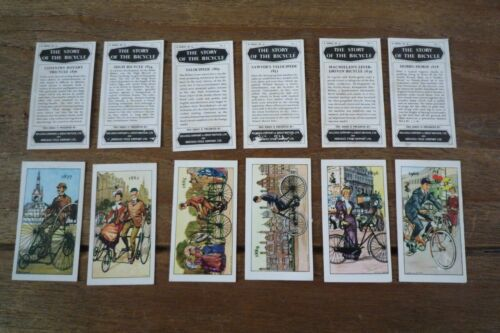 Kelloggs The Story Of The Bicycle Cards from 1965 GC Pick The Cards You Need