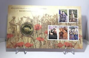 2008-1-Large-Coin-PNC-90th-Anniv-End-of-WWI-Remembrance-Limited-Collectable