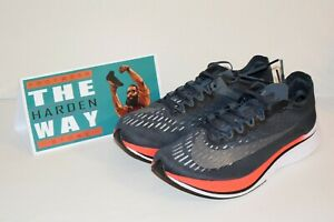 Details about Nike Zoom Vaporfly 4% Blue Fox Bright Crimson 880847 400 Men's Running Shoes