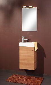 ... Gaestebad Set Gaeste WC Waschplatz Waschtisch Waschbecken Spiegel